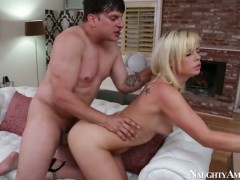Asian with round butt and smooth bush and hot guy Anthony Rosano do wild things